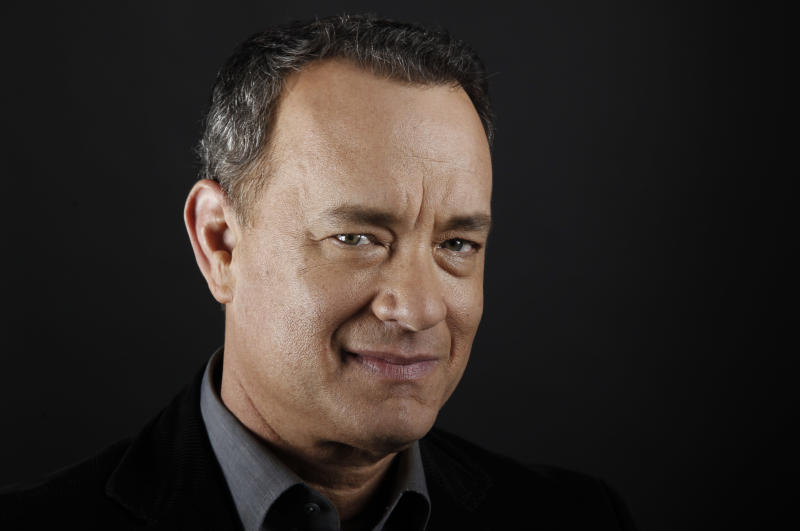 FILE - In this June 18, 2011 file photo, actor Tom Hanks poses for a portrait in Beverly Hills, Calif. Universal Studios chief Ron Meyer on Wednesday, May 9, 2012 announced that movie studios, TV networks, talent agencies and the entertainment unions have aligned with nonprofit groups to create Got Your 6, a multipronged effort to support military veterans and their families. Hanks, Alec Baldwin, Sarah Jessica Parker and Michael Douglas are among the faces of the campaign. (AP Photo/Matt Sayles, File)