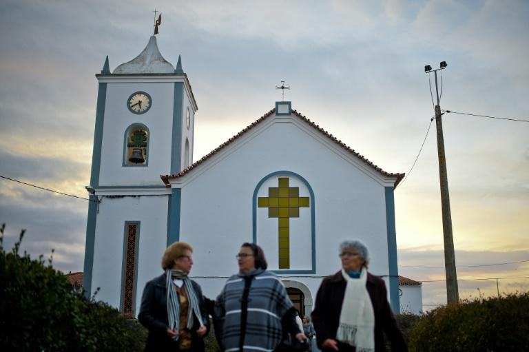Due to a shortage of catholic priests, laywomen lead Sunday services in churches of rural parishes in some areas of Portugal