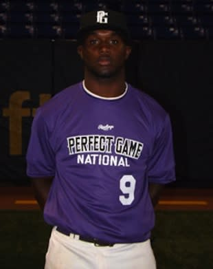 Carlos Williams is one of the nation's fastest players ... and best at getting hit — Perfect Game Baseball