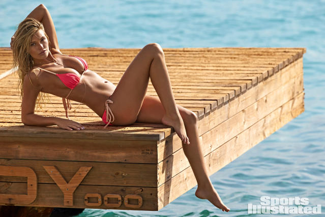 "<p>Samantha Hoopes was photographed by Ben Watts in Curacao. Swimsuit by <a href=""http://click.linksynergy.com/fs-bin/click?id=93xLBvPhAeE&subid=0&offerid=484990.1&type=10&tmpid=23605&RD_PARM1=https%253A%252F%252Fwww.shopbop.com%252Fcharlotte-bikini-top-solid-striped%252Fvp%252Fv%253D1%252F1520143699.htm&u1=SISWIMsamhoopes"" rel=""nofollow noopener"" target=""_blank"" data-ylk=""slk:Solid & Striped"" class=""link rapid-noclick-resp"">Solid & Striped</a>, available at <a href=""http://click.linksynergy.com/fs-bin/click?id=93xLBvPhAeE&subid=0&offerid=484990.1&type=10&tmpid=23605&RD_PARM1=https%253A%252F%252Fwww.shopbop.com%252Fcharlotte-bikini-top-solid-striped%252Fvp%252Fv%253D1%252F1520143699.htm&u1=SISWIMsamhoopes"" rel=""nofollow noopener"" target=""_blank"" data-ylk=""slk:revolve.com"" class=""link rapid-noclick-resp"">revolve.com</a>.</p>"