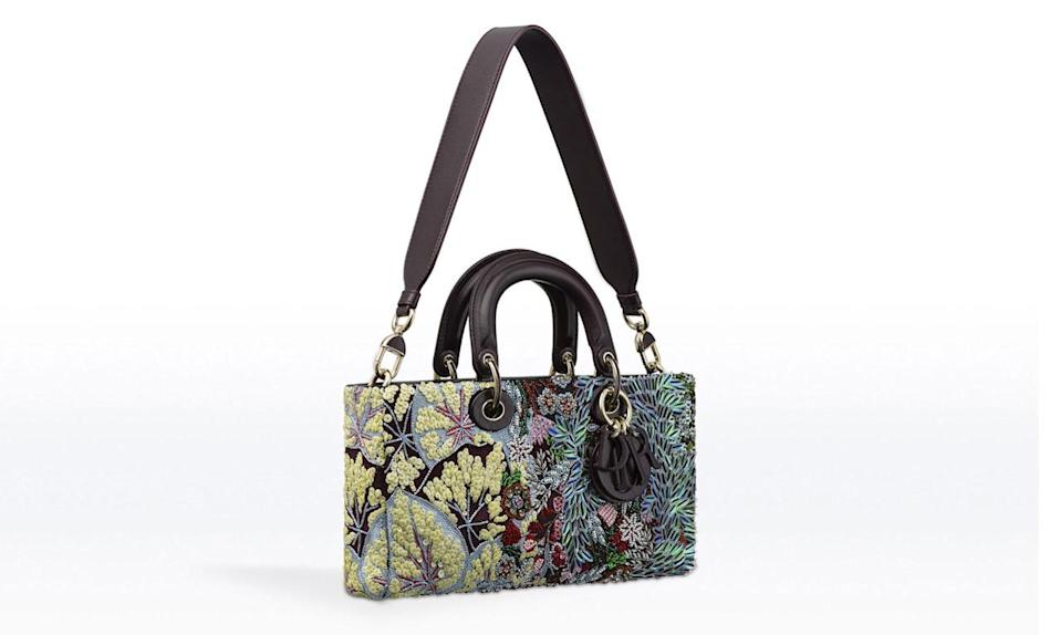 "<p>Something for the ladies who lunch from Dior. </p><p>Dior Runway Bag Embroidered with Sequin Flowers, Price upon request, available in <a href=""http://www.dior.com/couture/en_us/womens-fashion/leather-goods/dior-runway/runway-bag-entirely-embroidered-with-sequin-flowers-11-33428"" rel=""nofollow noopener"" target=""_blank"" data-ylk=""slk:Dior Boutiques"" class=""link rapid-noclick-resp"">Dior Boutiques</a></p>"