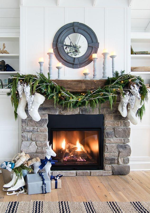 "<p>A nice, bushy garland always looks good draped across the mantel, but an array of tiered candles adds a cozy farmhouse vibe that really brings the look together. </p><p><em>Get the tutorial at <a href=""https://www.thelilypadcottage.com/2017/11/white-rustic-christmas-mantel.html"" rel=""nofollow noopener"" target=""_blank"" data-ylk=""slk:Lily Pad Cottage"" class=""link rapid-noclick-resp"">Lily Pad Cottage</a>.</em></p><p><a class=""link rapid-noclick-resp"" href=""https://www.amazon.com/Wooden-Holders-Candles-Wedding-Aromatherapy/dp/B07LCB6S9C?tag=syn-yahoo-20&ascsubtag=%5Bartid%7C10072.g.34484299%5Bsrc%7Cyahoo-us"" rel=""nofollow noopener"" target=""_blank"" data-ylk=""slk:SHOP CANDLE HOLDERS"">SHOP CANDLE HOLDERS</a></p>"