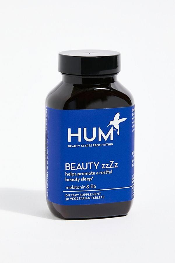 <p>The better you sleep, the better your skin looks. So, lets this <span>Hum Nutrition Beauty Zzzz</span> ($10) supplement help you get that beauty rest.</p>