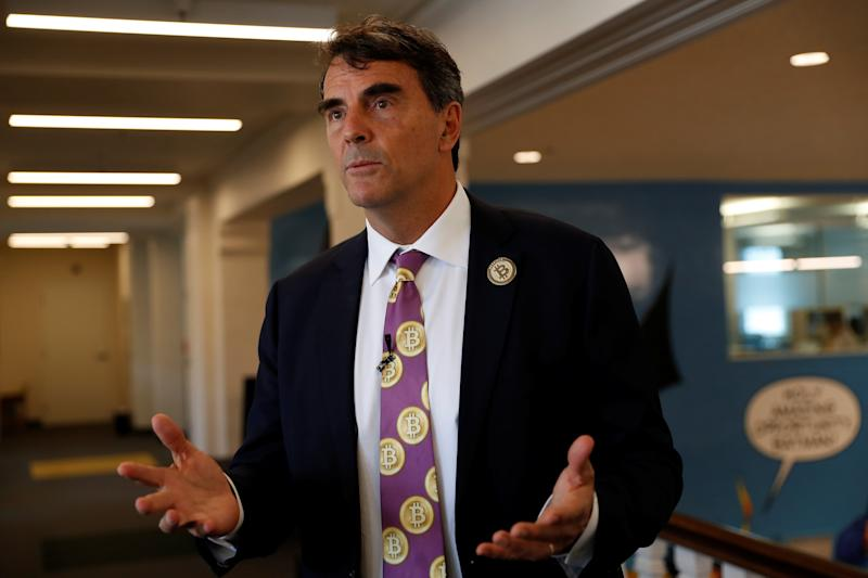This is the third time Tim Draper, above, has tried to split up California. (Stephen Lam / Reuters)