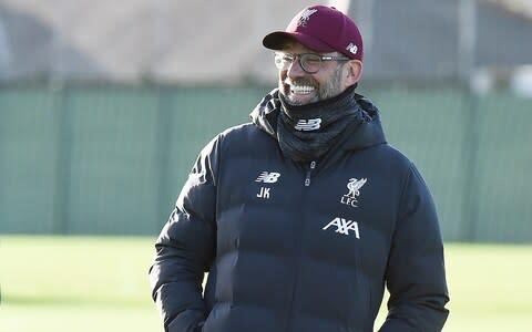 <span>Jurgen Klopp believes his side has underperformed in recent matches against Manchester United</span> <span>Credit: Getty Images </span>