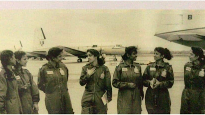 File photo: First batch of women pilots on Transport Aircraft (1994). Source: The Print and I.K. Khanna