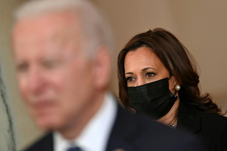 Vice President Kamala Harris is the first woman in the job and is part Black