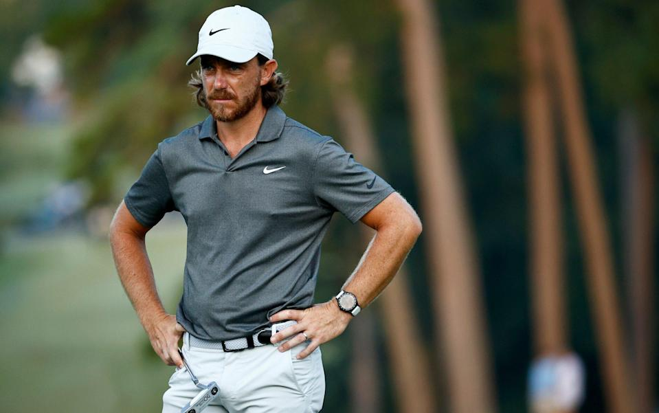 Tommy Fleetwood has not progressed to the BMW Championship in Maryland - GETTY IMAGES