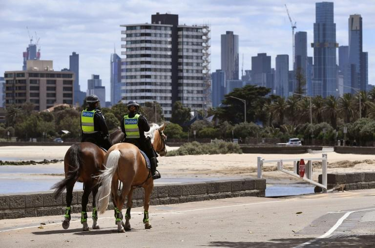 Melbourne and surrounding areas have been under tight virus restrictions for months