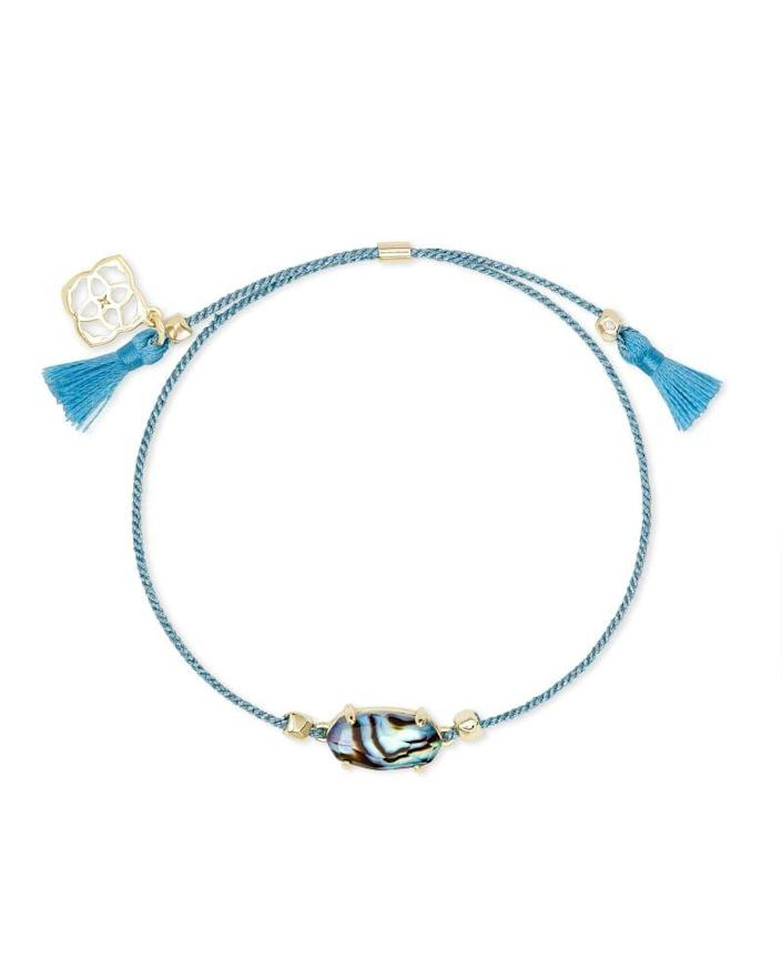 """<p><strong>Kendra Scott</strong></p><p>kendrascott.com</p><p><strong>$40.00</strong></p><p><a href=""""https://go.redirectingat.com?id=74968X1596630&url=https%3A%2F%2Fwww.kendrascott.com%2Fproducts%2Feverlyne-friendship.html%3Fdwvar_everlyne-friendship_stoneColor%3D454%23start%3D8&sref=https%3A%2F%2Fwww.goodhousekeeping.com%2Fholidays%2Fgift-ideas%2Fg4349%2Fgifts-for-college-graduates%2F"""" rel=""""nofollow noopener"""" target=""""_blank"""" data-ylk=""""slk:Shop Now"""" class=""""link rapid-noclick-resp"""">Shop Now</a></p><p>Even when you're miles apart, this cord bracelet will remind your college bestie that you're always thinking of her. Pick from eight cord and stone medallion combinations — perhaps one that matches your alma mater? </p>"""