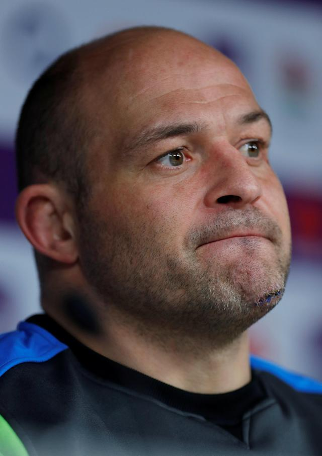 Rugby Union - Ireland Press Conference - Twickenham Stadium, London, Britain - March 16, 2018 Ireland's Rory Best during the press conference Action Images via Reuters/Andrew Couldridge