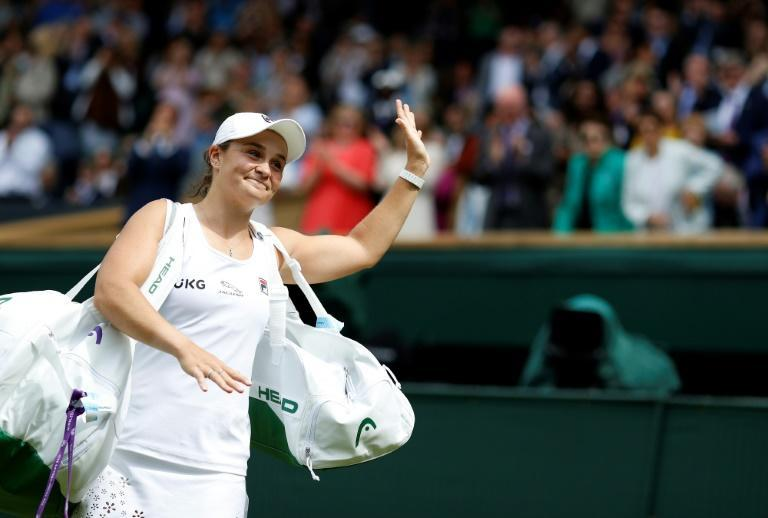 Ashleigh Barty will fulfil a childhood dream of playing in a women's Wimbledon final where Karolina Pliskova stands in her way of winning on the 50th anniversary of fellow indigenous Australian Evonne Goolagong Cawley's maiden crown