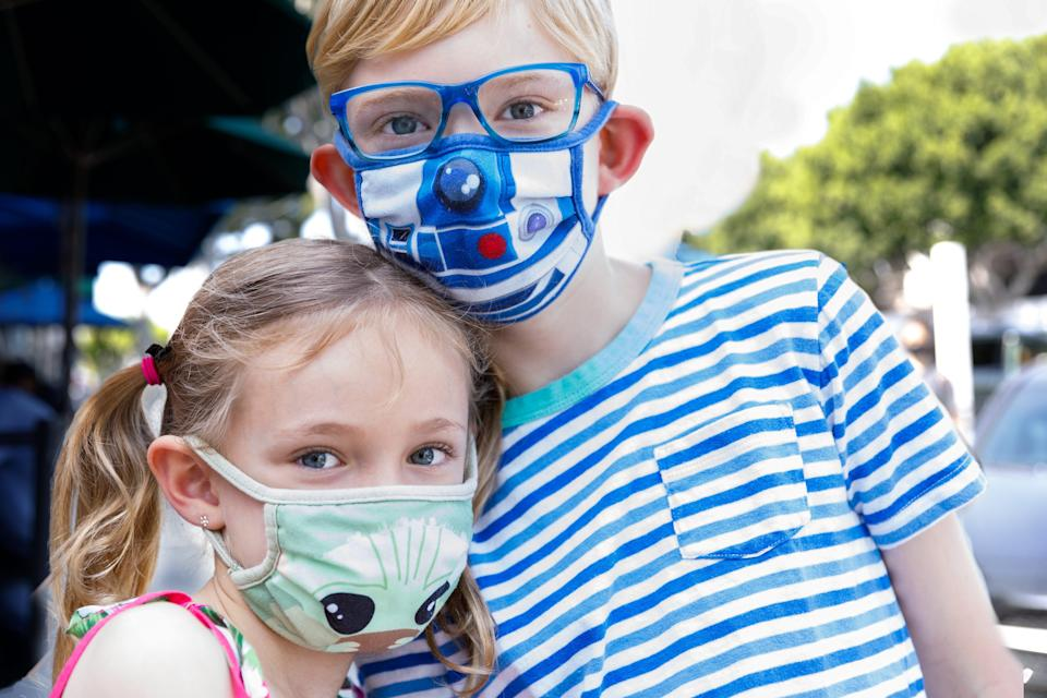 Masks your kids will actually be excited to wear.
