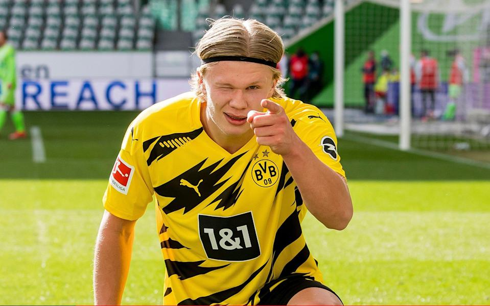 Borussia Dortmund confident Erling Haaland will stay for another season - Getty Images