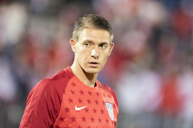 Ethan Horvath last played for the U.S. a year ago. (Tim Clayton/Getty Images)