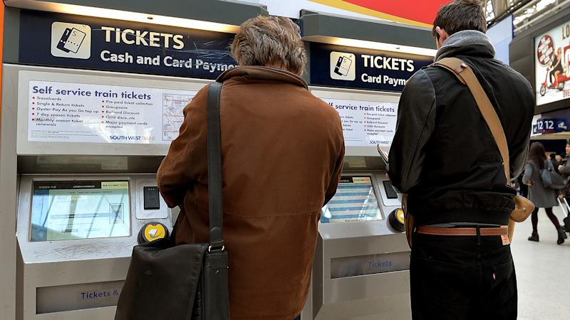 Train ticket refunds for people who are no longer travelling