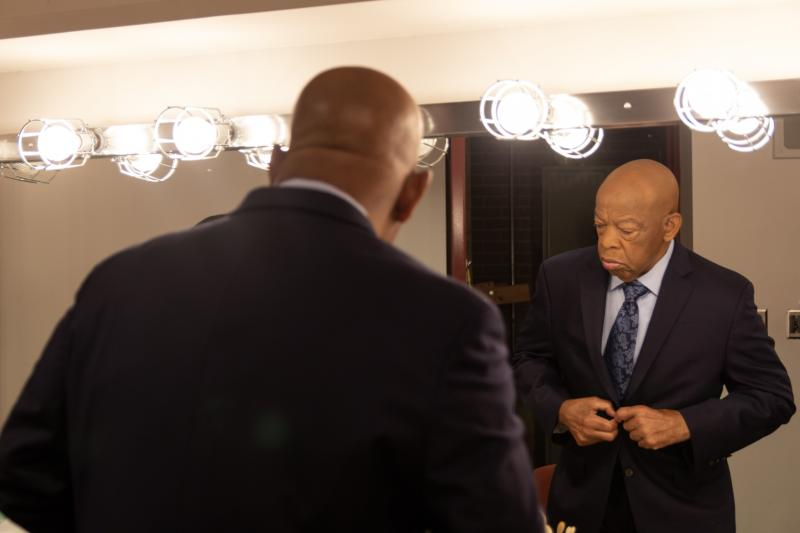 As a teenager, a young John Lewis wrote to Dr. Martin Luther King Jr., asking for help integrating segregated Troy State University in Troy, Alabama. (Sky)