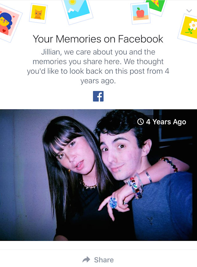 How Facebook decides which memories to show you in one of its most