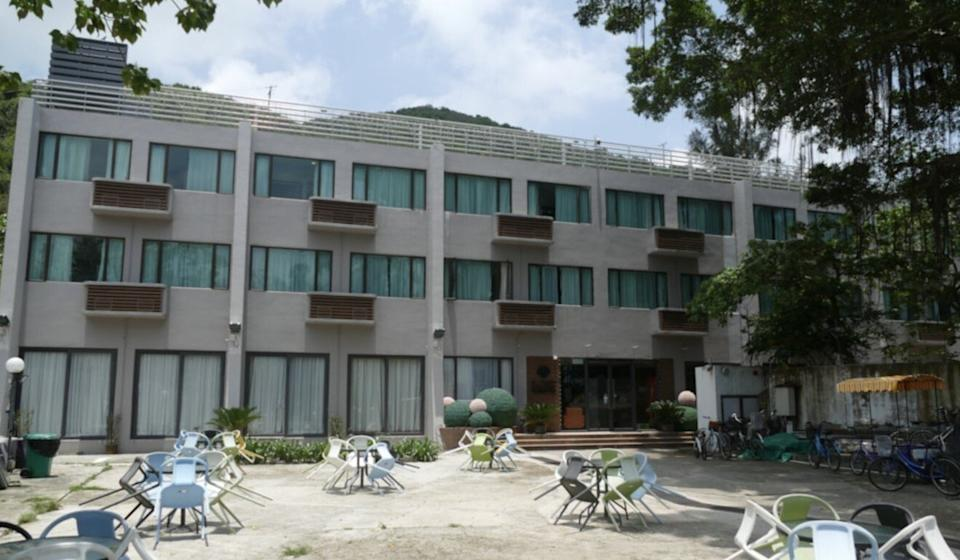 Seaview Holiday Resort in Mui Wo on Lantau Island was at the centre of a cluster of Covid-19 infections. Photo: Handout.