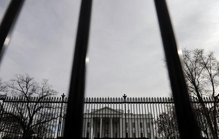 General view of the White House in Washington, U.S., March 10, 2019. REUTERS/Mary F. Calvert