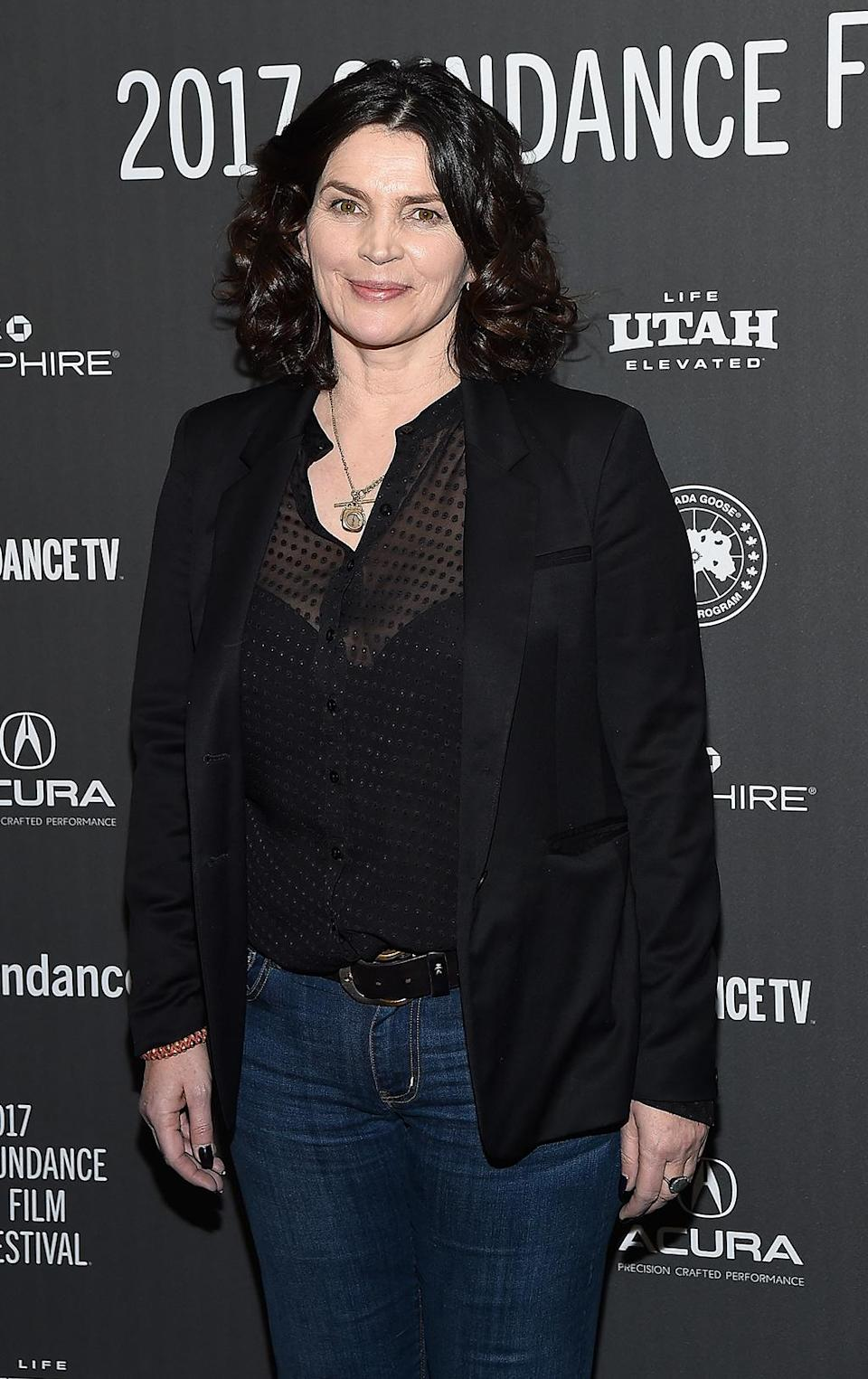 <p>The British actress is on hand for the opening of 'Rememory.' (Photo: Matt Winkelmeyer/Getty Images) </p>