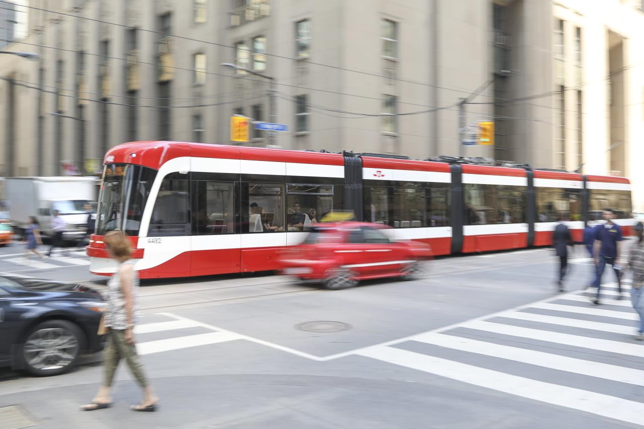 Transportation: $258.55, including a $138.55 Presto pass for TTC and four $30 ride-sharing trips. (Getty)