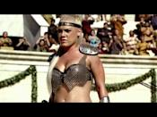 """<p>One of the most iconic Super Bowl commercials in recent memory... the power trio of Beyoncé, Pink and Britney Spears depict gladiators waiting for battle in the colosseum in front of the emperor (Enrique Iglesias) and instead come together to sing Queen's 'We Will Rock You'. If 2004 could be summed up in a commercial, this would be it.</p><p><a href=""""https://www.youtube.com/watch?v=W7jkygJ_QNo"""" rel=""""nofollow noopener"""" target=""""_blank"""" data-ylk=""""slk:See the original post on Youtube"""" class=""""link rapid-noclick-resp"""">See the original post on Youtube</a></p>"""