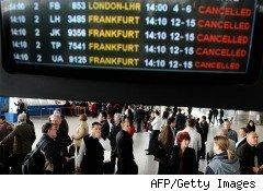 European air travel disrupted by Iceland volcano