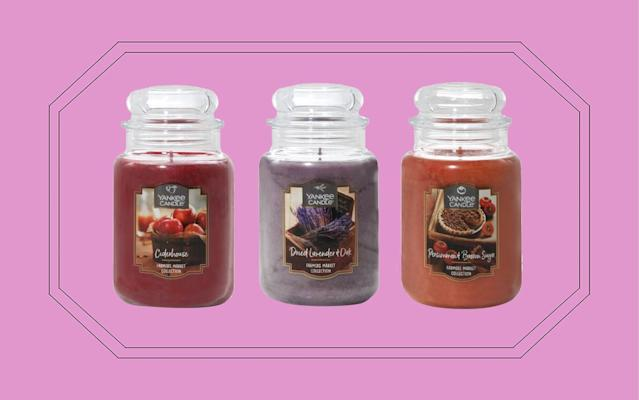 Yankee Candle's New Line Is Here and It Smells Just Like Fall