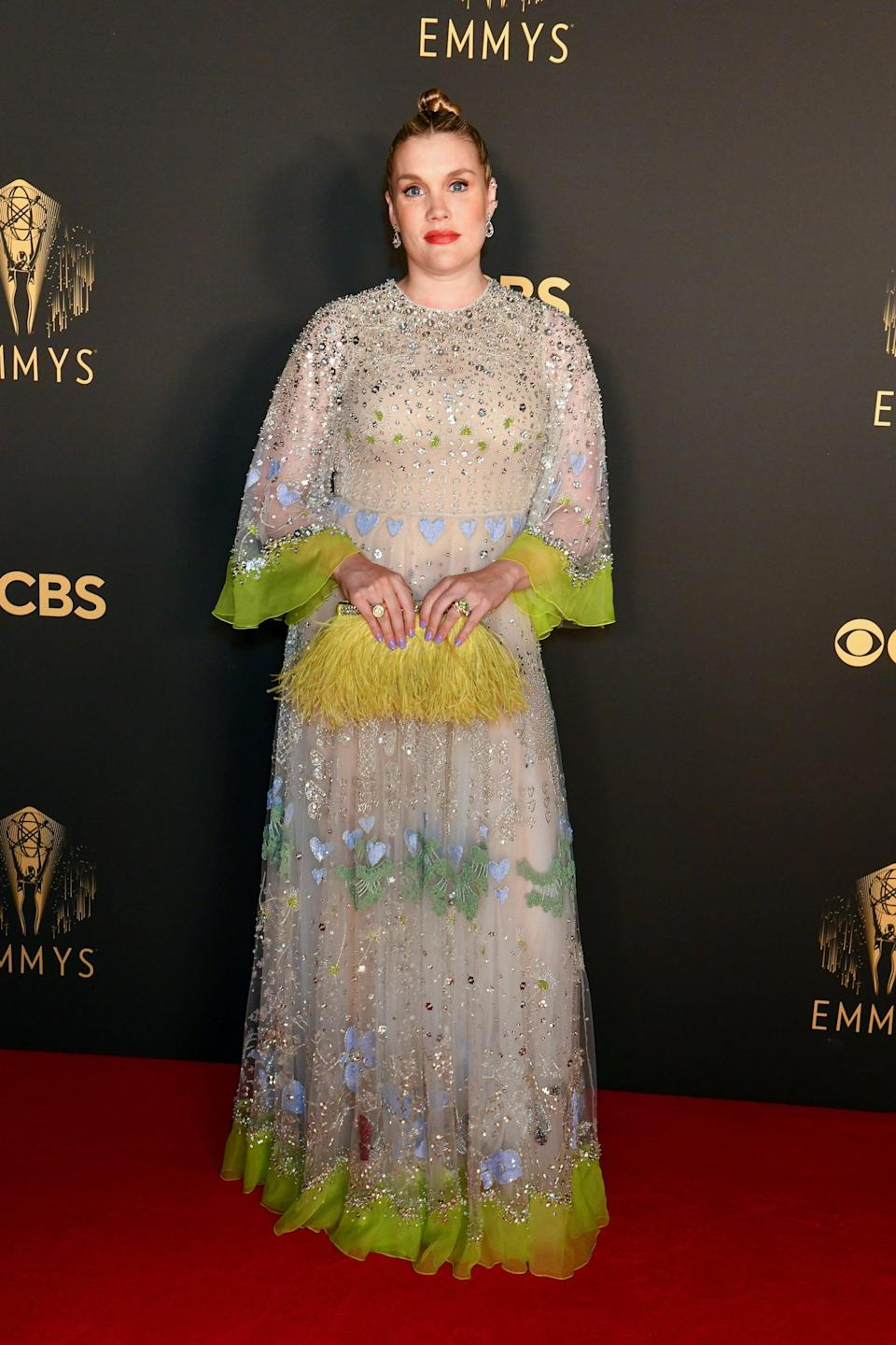 Emerald Fennell in Valentino<br><br><br><br><br>