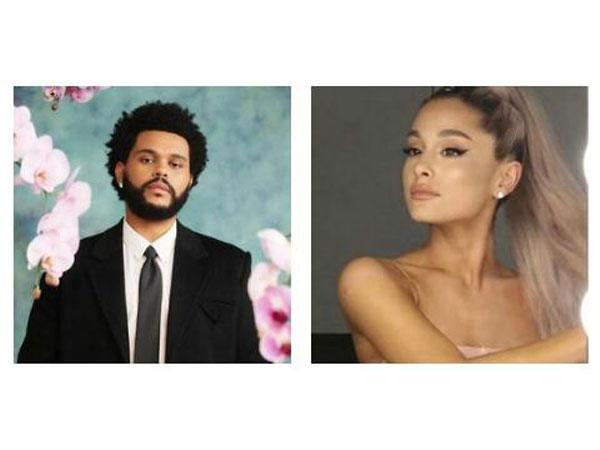 The Weeknd and Ariana Grande (Image source: Instagram)