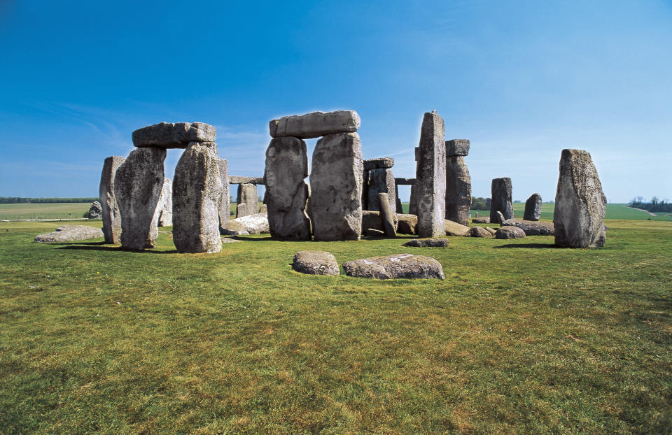 Were some of the stones already there? Getty