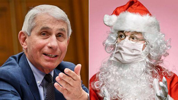 PHOTO: Dr. Anthony Fauci says Santa Claus can not transmit COVID-19. (Getty Images, STOCK PHOTO/Getty Images)
