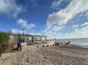 """<p>Oh we do like to be beside the seaside, especially when it involves staying in a beach house on the Isle of Sheppey overlooking the coastline.</p><p>A popular destination for paddle boarders and fishermen, the shell beach is a gem along the coast and this holiday hideaway has two double bedrooms and one single, as well as a raised deck on both sides of the abode. Better yet, the house is powered by solar energy meaning you don't need to worry about keeping the lights on late at night.</p><p><strong>Cabin for 5 from £285 per night</strong></p><p><a class=""""link rapid-noclick-resp"""" href=""""https://www.canopyandstars.co.uk/britain/england/kent/shellness/sandy-toes-beach-house-at-shellbeach"""" rel=""""nofollow noopener"""" target=""""_blank"""" data-ylk=""""slk:BOOK ONLINE"""">BOOK ONLINE</a> </p>"""