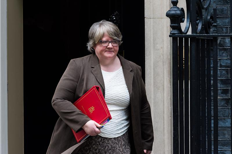 """Work and pensions secretary Therese Coffey has said jobcentres will start """"fully reopening"""" from July and rejected calls to extend the ban of sanctions. (Photo: Barcroft Media via Getty Images)"""
