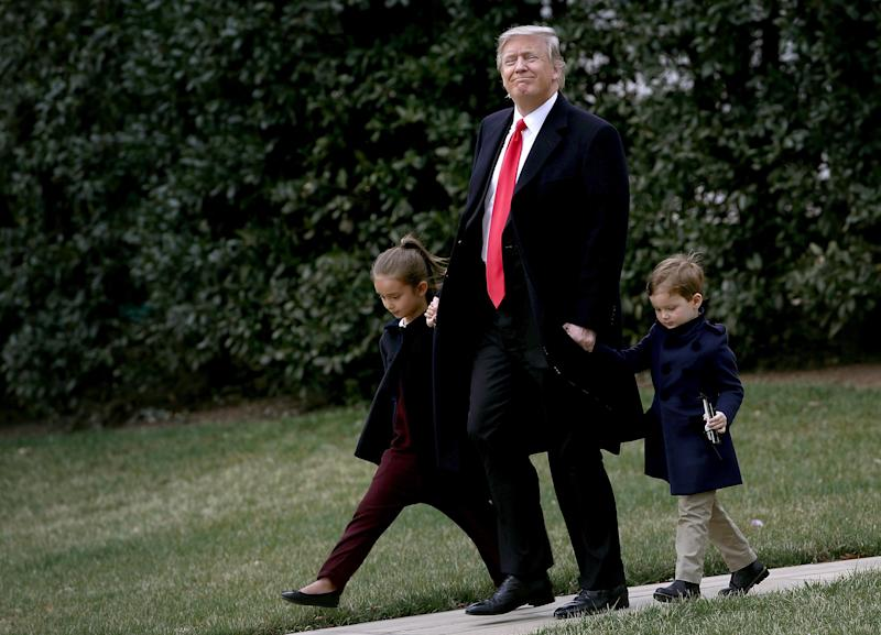 President Donald Trump Will Be A Grandfather Again