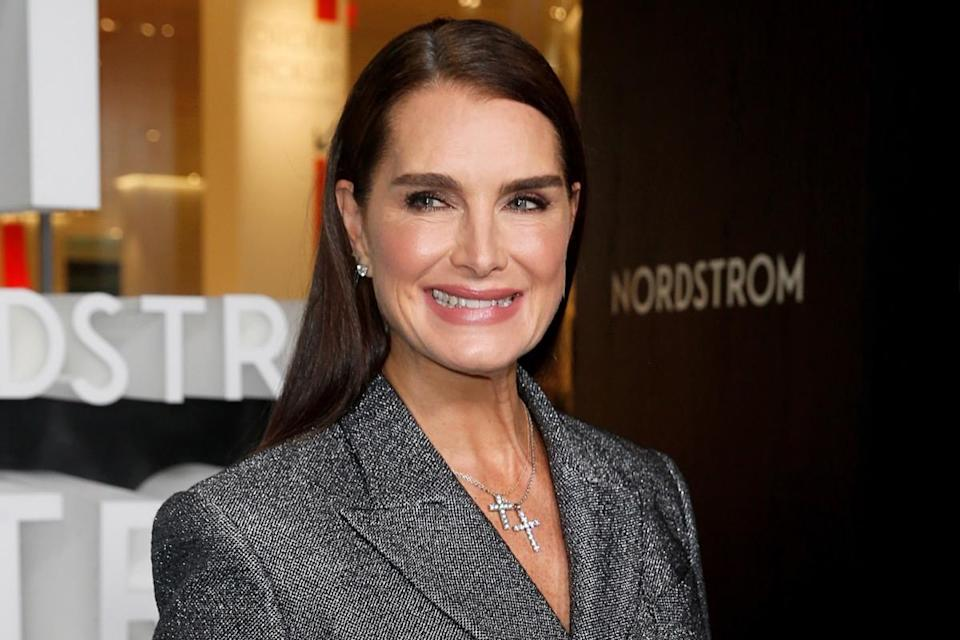 NEW YORK, NEW YORK - OCTOBER 22: Brooke Shields attends the Nordstrom NYC Flagship Opening Party on on October 22, 2019 in New York City. (Photo by Dominik Bindl/WireImage)