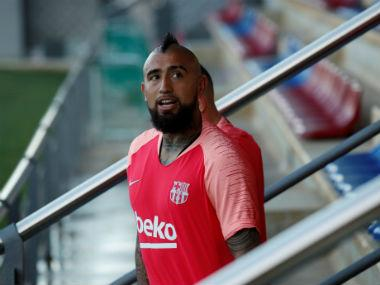 LaLiga: Barcelona midfielder Arturo Vidal frustrated by lack of game time, says he can't be happy if he doesn't play
