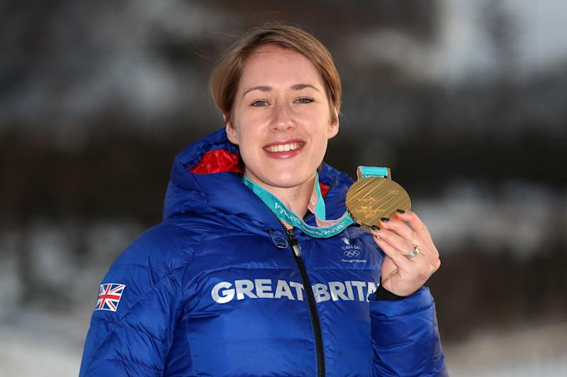 Two-time Olympic gold medallist: Lizzy Yarnold: PA