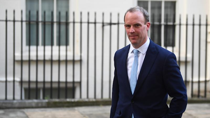 Raab to lead daily Covid-19 meeting in PM's absence