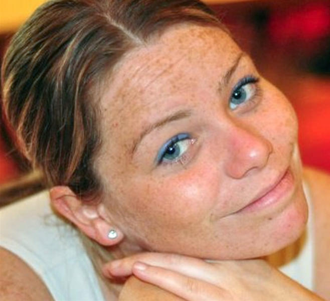 This undated photo provided by the family shows Krystle Campbell. Campbell, 29, a restaurant manager from Medford, Mass., was among the people killed in the explosions at the finish line of the Boston Marathon, Monday, April 15, 2013, in Boston. (AP Photo/Campbell Family)