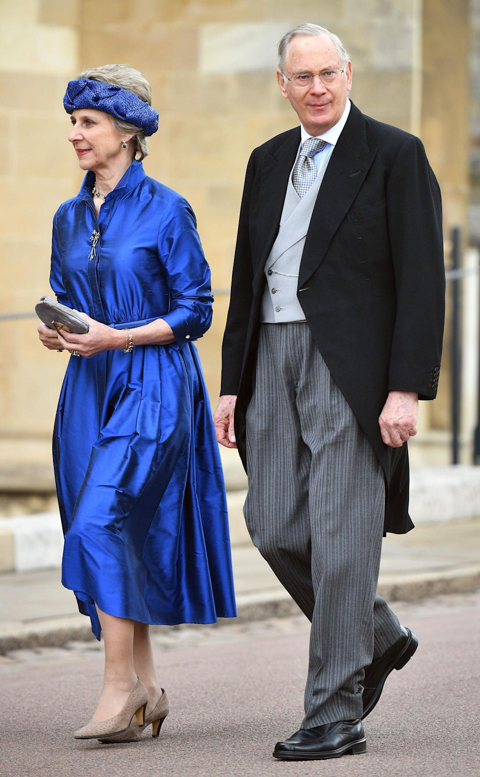 Birgitte, Duchess of Gloucester and Prince Richard, Duke of Gloucester attend the wedding of Lady Gabriella Windsor and Thomas Kingston [Photo: Getty]
