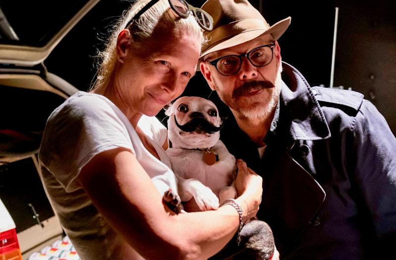 Alton Brown's adorable rescue dog will melt your heart