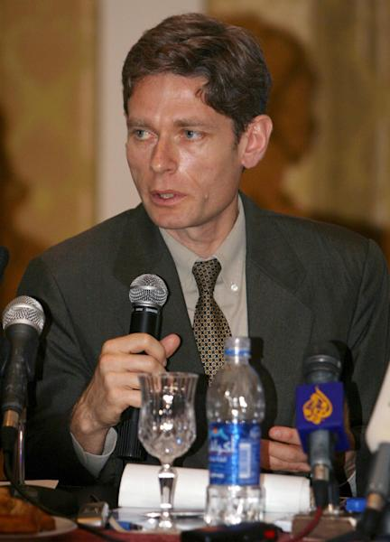 """File photo of Tom Malinowski, the US Assistant Secretary of State for Democracy, Human Rights and Labour, who has been told by Bahrain that he is """"unwelcome"""" in the kingdom and should """"leave immediately"""" (AFP Photo/Mahmud Turkia)"""