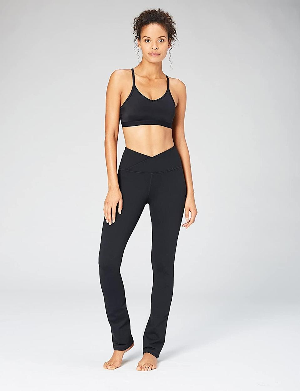 <p>These <span>Core 10 Build Your Own Yoga Straight Pants</span> ($19-$75) are great for yoga and pilates.</p>