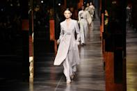 The figures for the Italian fashion industry are markedly better this year than in 2020 (AFP/Tiziana FABI)