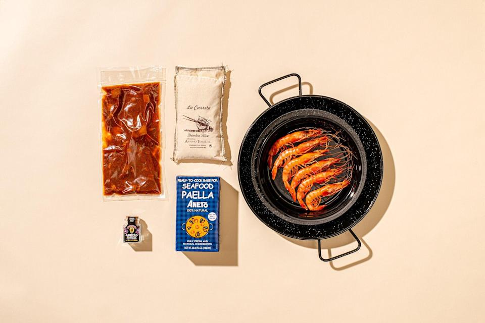 Chef Jose Andres x Goldbelly Little Spain meal kits