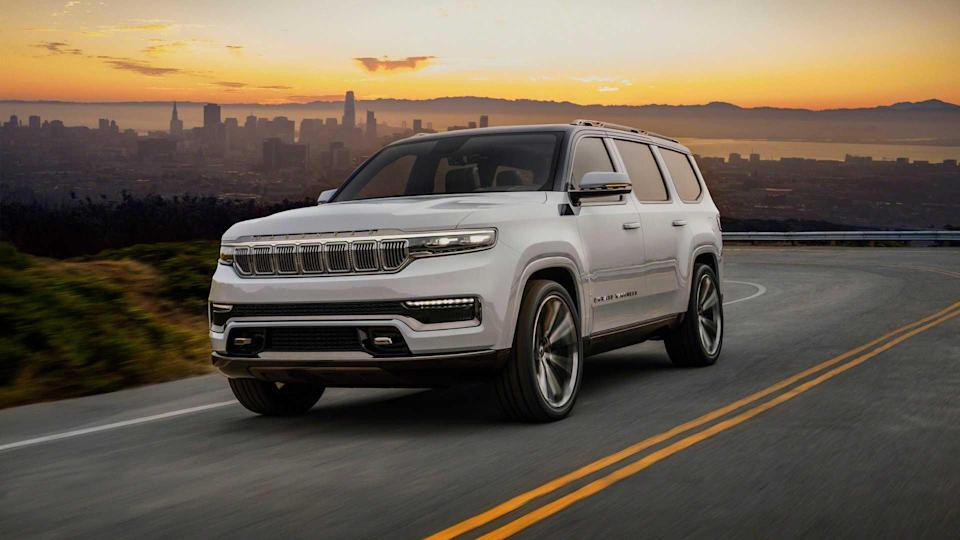 Jeep Grand Wagoneer Concept 2020