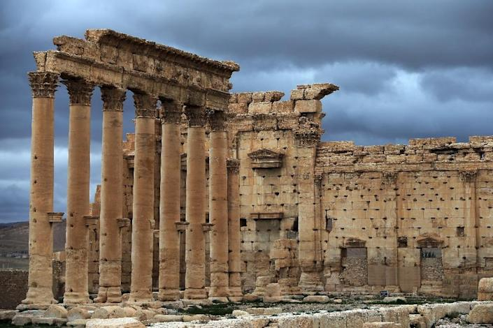 The ancient Syrian oasis city of Palmyra was declared a UNESCO world heritage site in 1980 (AFP Photo/Joseph Eid)
