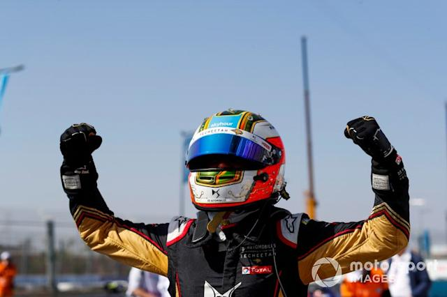 "Ganador de la carrera Antonio Felix da Costa, DS Techeetah, DS E-Tense FE20 <span class=""copyright"">Alastair Staley / Motorsport Images</span>"